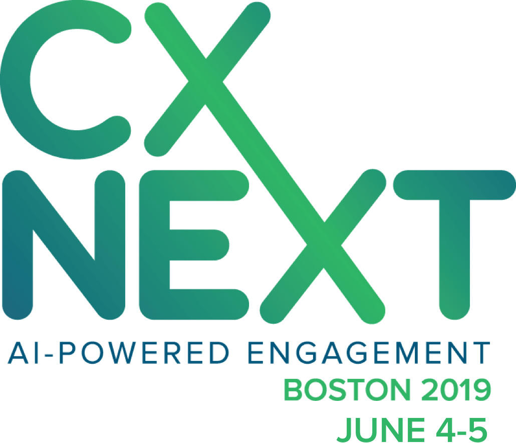 CXNext AI-Powered Engagement Boston 2019